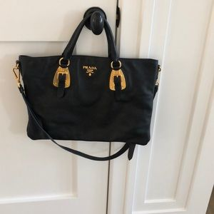 Large Prada crossbody.